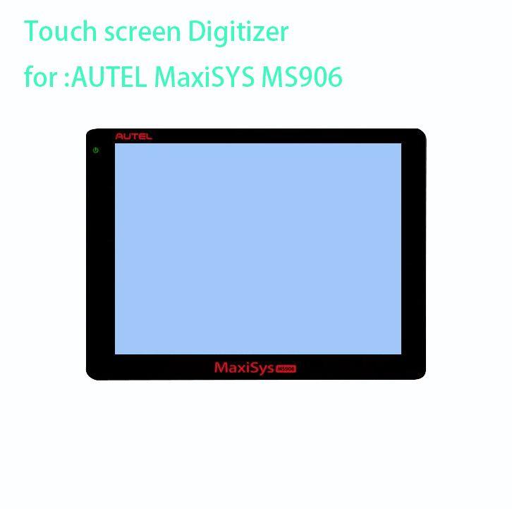 Neue touch screen panel Digitizer Glas Sensor sensor ersatz für AUTEL MaxiSYS MS906 MS906TS MS908 MS908p TS BT PRO