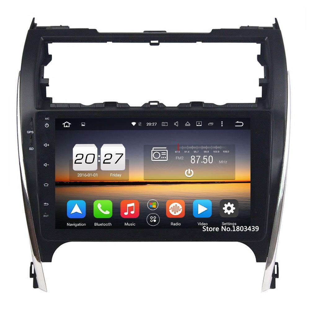 Android 6.0.1 Octa core 2 ГБ Оперативная память 32 ГБ Встроенная память автомобильный dvd-плейер руль gps-навигации 2din радио для toyota Camry 2012-2017