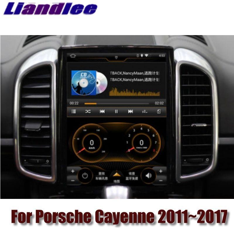 Für Porsche Cayenne S V6 92A 2011 ~ 2017 MACAN NAVI 2g RAM Liandlee Auto Multimedia GPS WIFI Audio carPlay Radio Navigation KARTE
