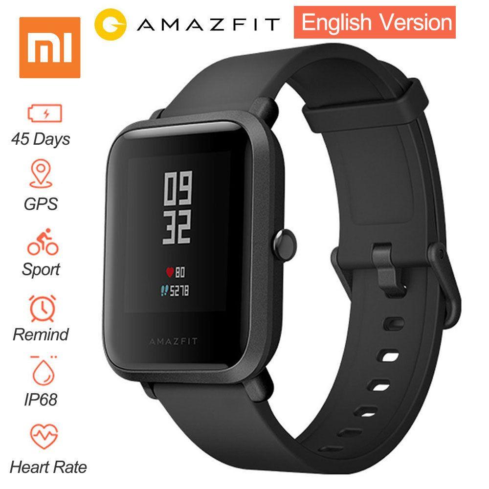 [English Version] Xiaomi Huami Amazfit Bip BIT PACE Lite Youth Mi Fit IP68 Waterproof Glonass Smart Watch+GPS English <font><b>Language</b></font>