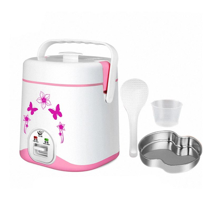 Automatic micro-rice cooker 1.2 liters, presented conversion plug