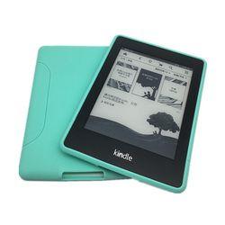 Para Kindle Paperwhite caso suave TPU silicona Ultra delgado peso ligero funda para Amazon Kindle Paperwhite 1 2 3 + pluma + película