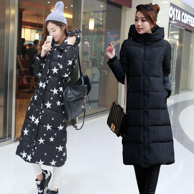 High Quality 2018 New Autumn Winter Design Women's Cotton Slim Zipper Coat Hooded Jackets Coats Overcoat Plus Size Down Parkas