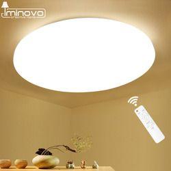 Современный светодиодный потолочный светильник лампа поверхностного монтажа гостиная спальня ванная комната дистанционное управление до...