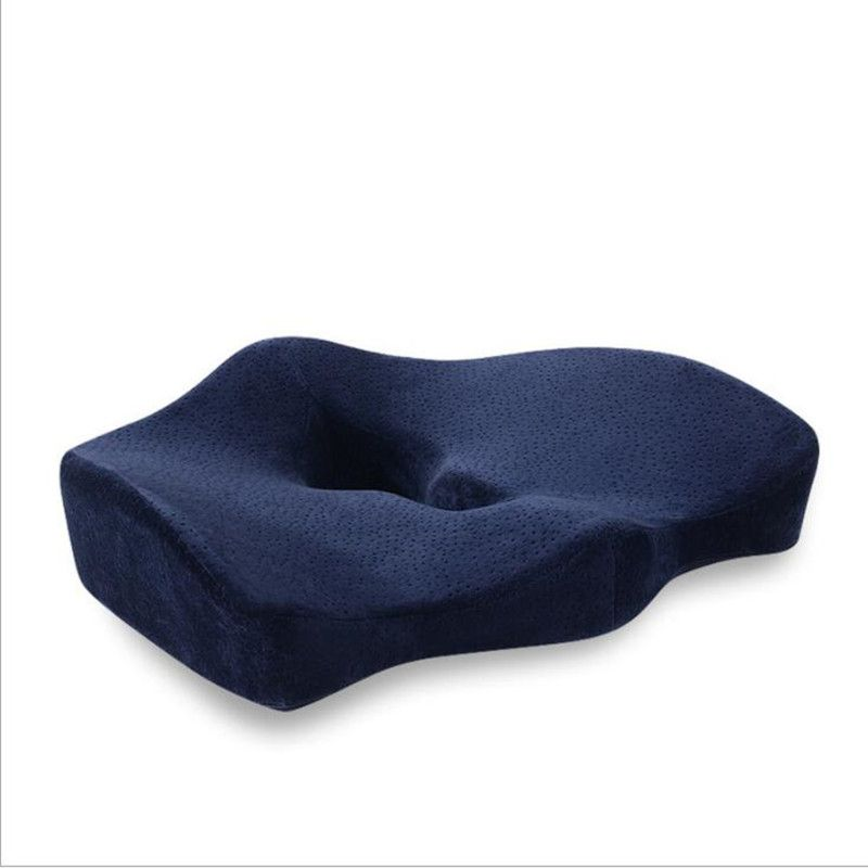 Orthopedic Coccyx Memory Foam Chair Pillow Office Seat Pad Car Seat Wheelchair Big Fat Cushion Mats Hemorrhoid Treat