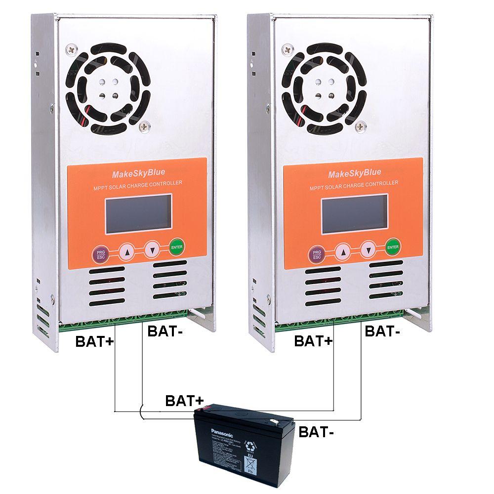 120A MPPT Solar Charge Controller support 1440W 2880W 4200W 5600W Panel Regulator for 12V 24V 36V 48V DC MakeSkyBlue Quality