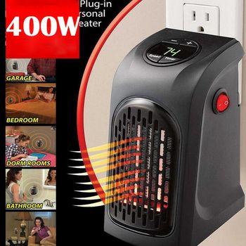 Мини-Электрический домашний удобный нагреватель плита ручной подогреватель штекер-в 400 Вт настенный нагреватель Кухня Бар ванная комната о...