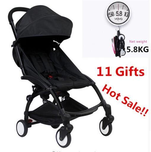 In Stock 2018 Original Travel Baby Yoya Stroller Wagon Portable Folding baby Stroller Lightweight Pram Babyzen Yoyo Stroller