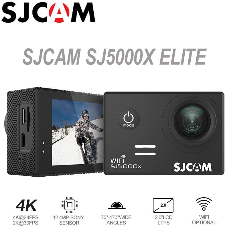 Action Camera SJCAM SJ5000X Elite 4K WiFi Sport DV Underwater Waterproof 1080P HD NTK96660 2.0 LCD Screen Original SJ Cam SJ5000