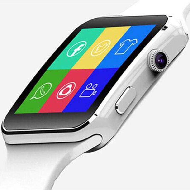 Nouvelle Arrivée X6 Montre Smart Watch avec Écran Tactile Caméra Soutien SIM TF Carte Bluetooth Smartwatch pour iPhone Xiaomi Android Téléphone