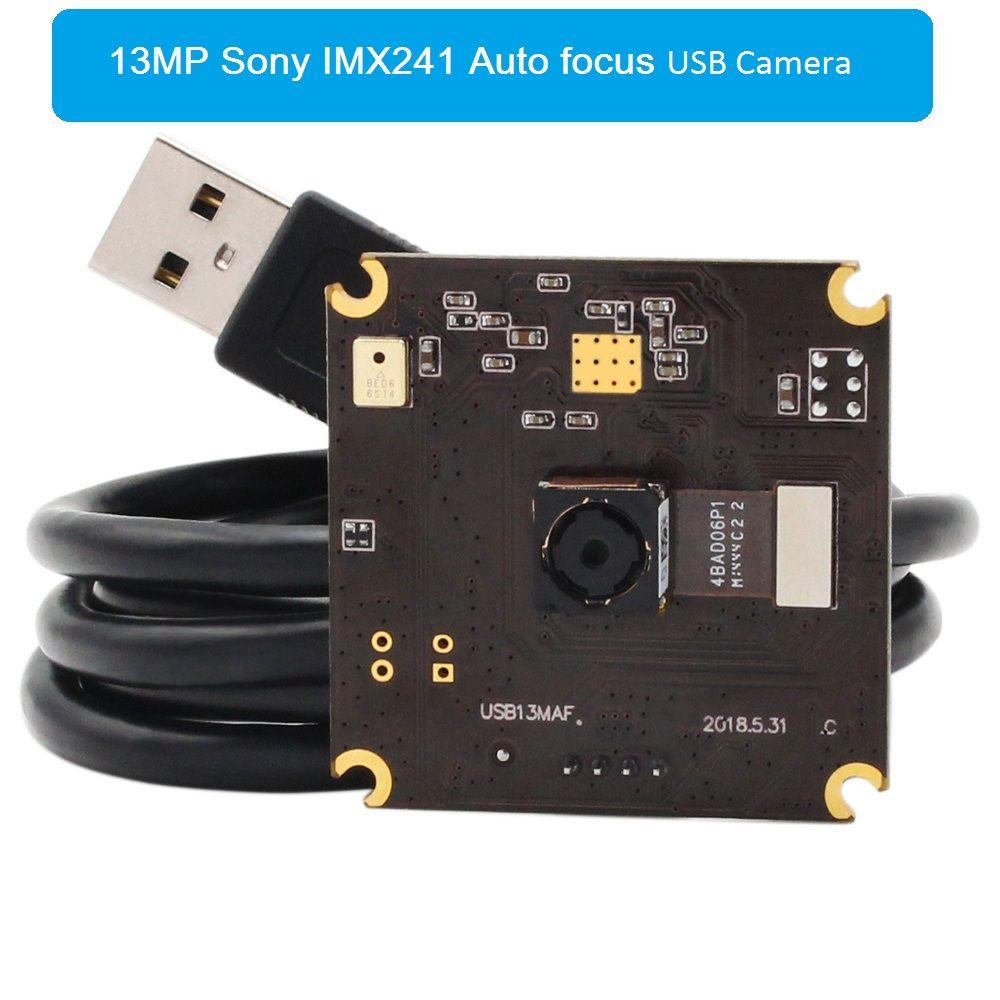 13 Megapixel Hohe Auflösung USB2.0 Kamera Modul SONY IMX214 CMOS Autofokus USB Kamera Board für dokument passprt scanner