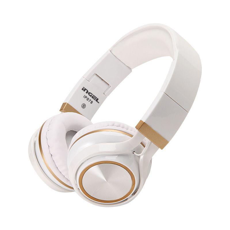 NIYOQUE casque stéréo 3.5mm Studio casque DJ écouteurs milieu casque de jeu casque pour Iphone Ipad lecteur Mp3