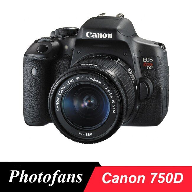 Canon 750d/rebel t6i dslr camera-24.2 mp-3.0