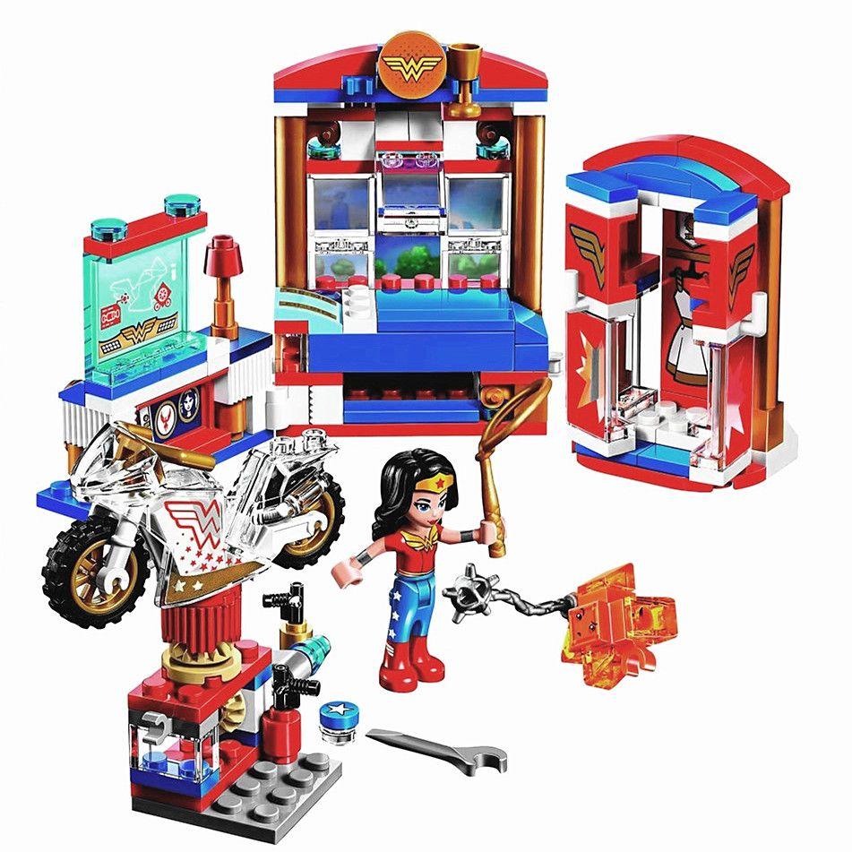 BELA DC Super Hero Wonder Girls Femme Dortoir Blocs de Construction Classique Pour Fille Amis Enfants Modèle Jouets Marvel Compatible Legoe