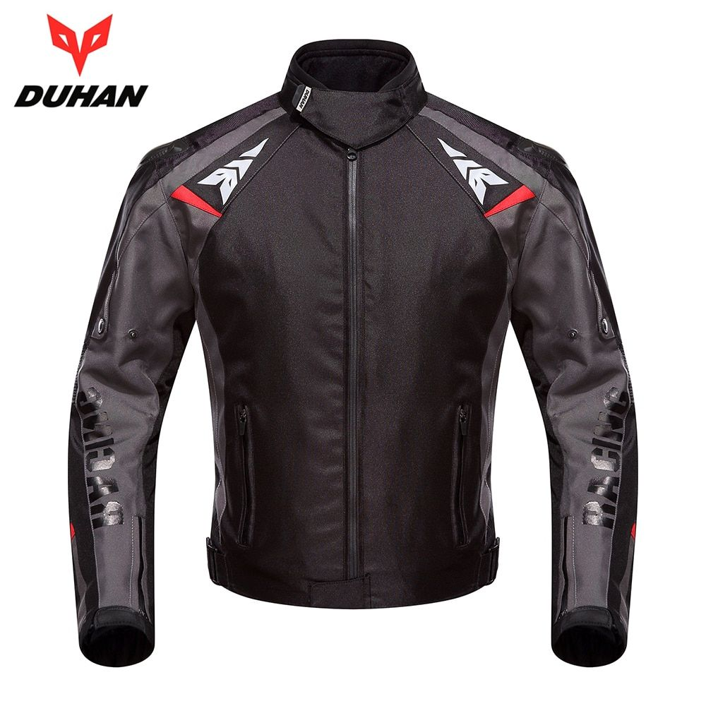 DUHAN Motorcycle Jacket Moto Autumn Winter Waterproof Cold-proof Biker Jacket Men Motorbike Riding Clothing Protective Gear
