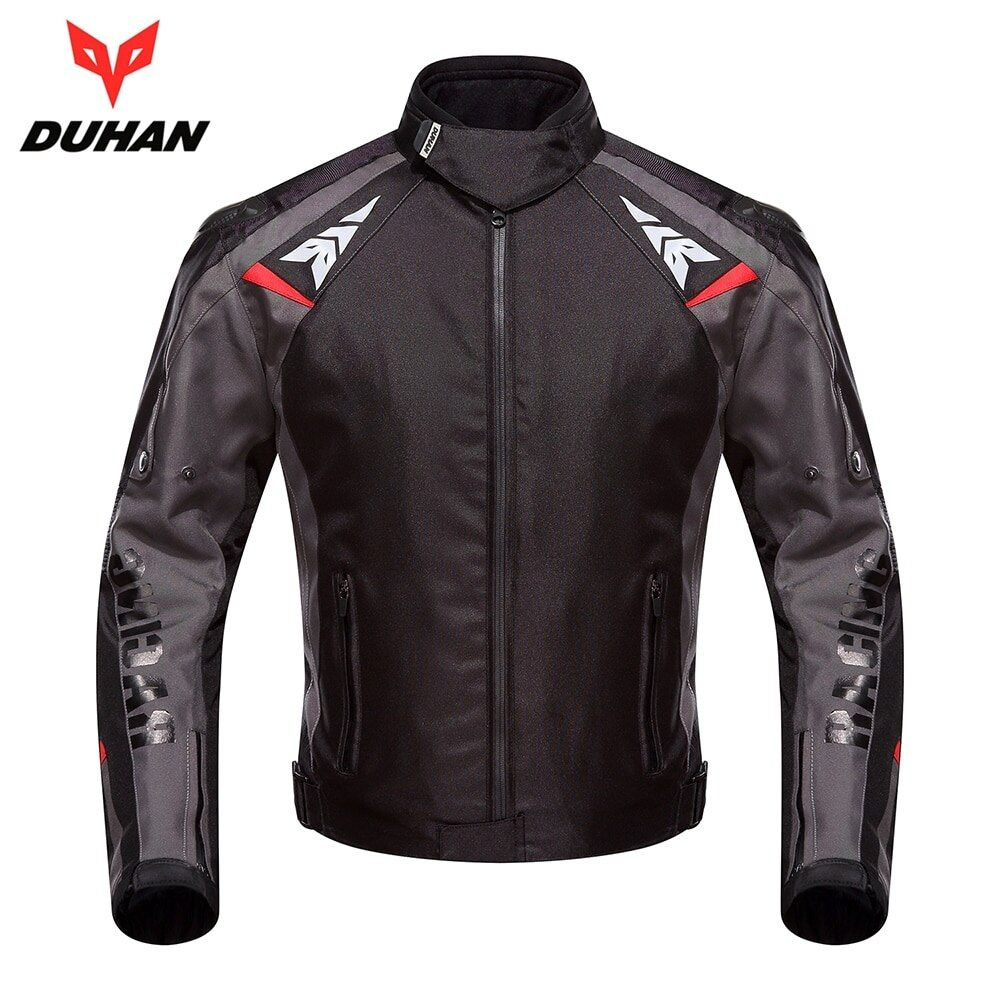 DUHAN Motorcycle Jacket Moto Autumn Winter Waterproof Cold-proof Biker Jacket Men Motorbike Riding Clothing Protective Gear