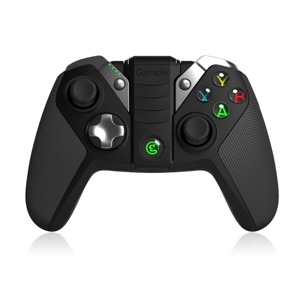GameSir G4s USB contrôleur sans fil Bluetooth Gamepad pour Android TV BOX Smartphone tablette PC VR jeux, 2.4Ghz Joypad