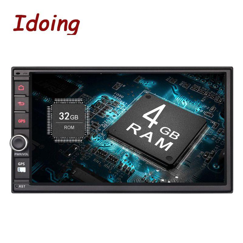 Idoing 4GB RAM 32G ROM Steering-Wheel 7