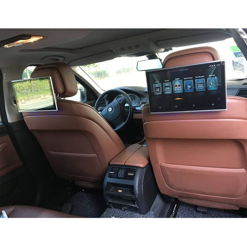 Car android headrest monitor with bluetooth aux 11.6 inch fm transmitter car bluetooth support HDMI Aux out/ in USB SD Card