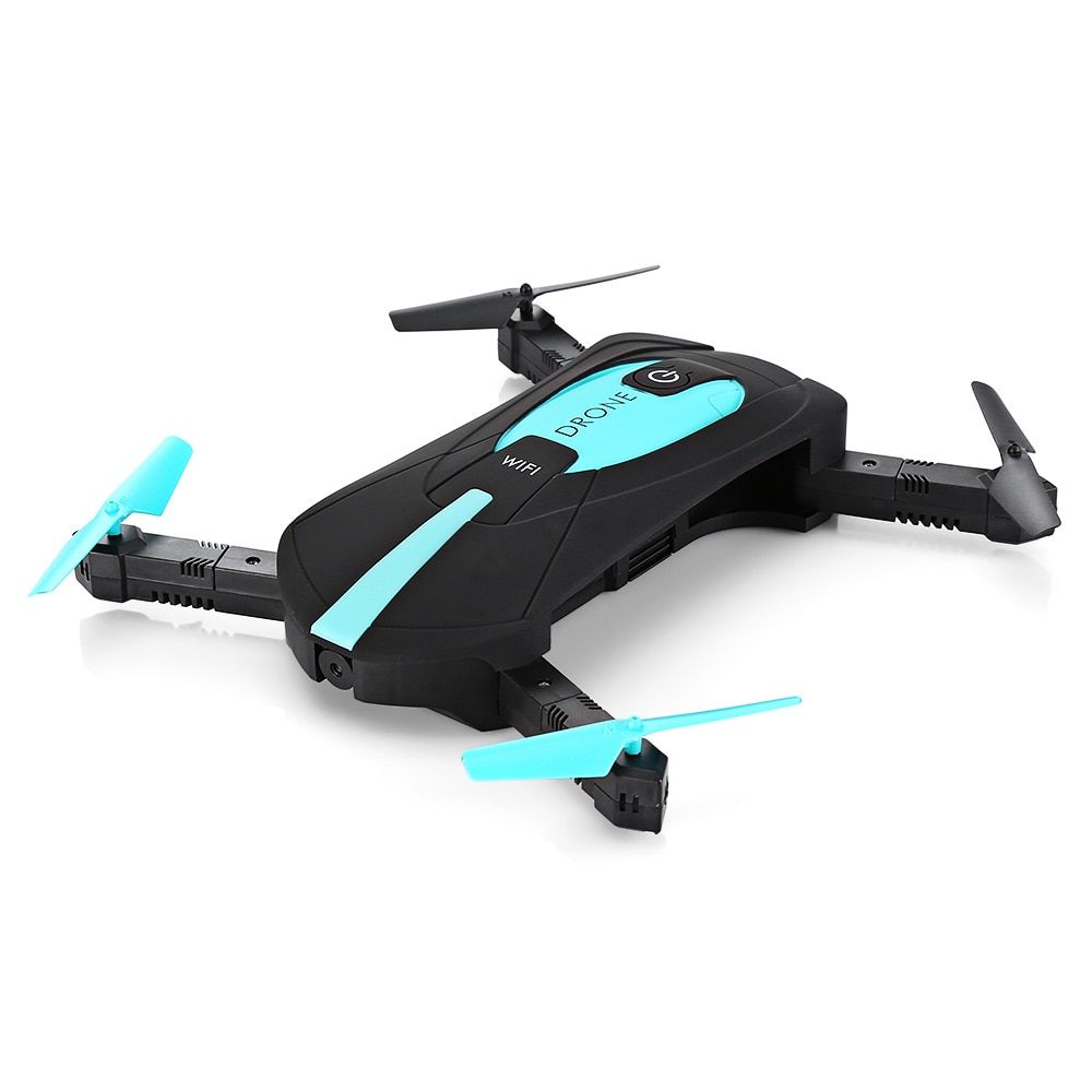 New ELFIE WiFi FPV Quadcopter Mini Foldable Selfie Drone RC Pocket Drones WiFi FPV 720P Camera G-Sensor Mode Drone Dron Toy Gift
