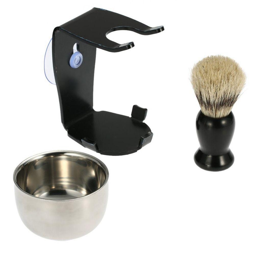 Original Manuelle Rasiermesser Pinsel Set Mit Sauger Alt-fashioned Männer Rasieren Rasierer Rasierer Haar Bart Rasiermesser Anzug Für Home salon verkauf