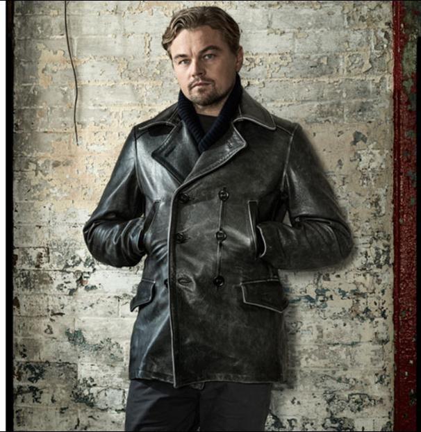 Free shipping.2017 new Brand man thicker vintage leather long Jackets men's genuine Leather biker slim jacket.autumn fashion
