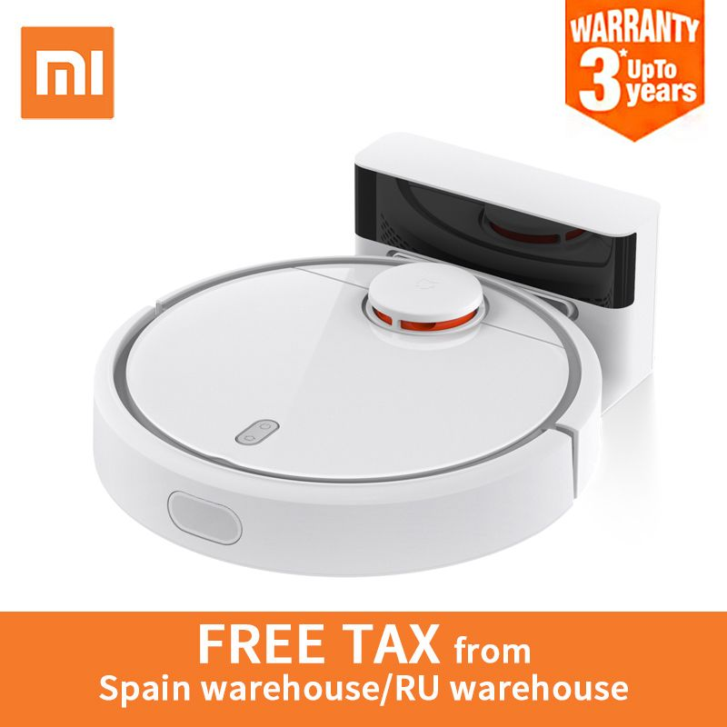 Global Version Original Xiaomi MI Robot Vacuum Cleaner Automatic Sweeping Dust Sterilize Smart Planned Mobile App Remote Control