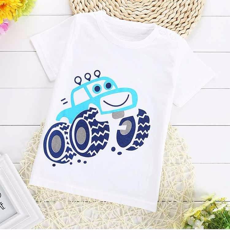 2019 neue Gute Qualität T-shirt Mode Lässig Kurzarm Nette Baumwolle Material kleine größe