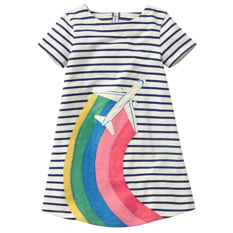 Bear Leader Girls Dress 2018 Brand Princess Dress Kids Clothes European and American Design Girls Clothes For 2-6Y Party Dresses