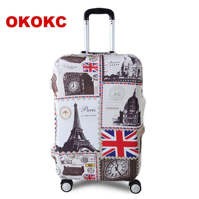OKOKC Tour bagages de voyage Valise couvercle de protection pour Tronc Cas appliquer à 19 ''-32'' couvercle de valise Épais Élastique Parfaitement