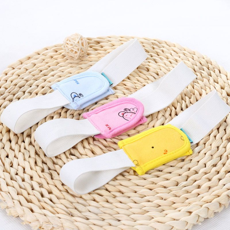 New 5 Pcs 46*5CM Diapers Buckle Baby Care Adjustable Convenient Soft Reusable Nappies Diaper Fixed Belt For 0-12 M
