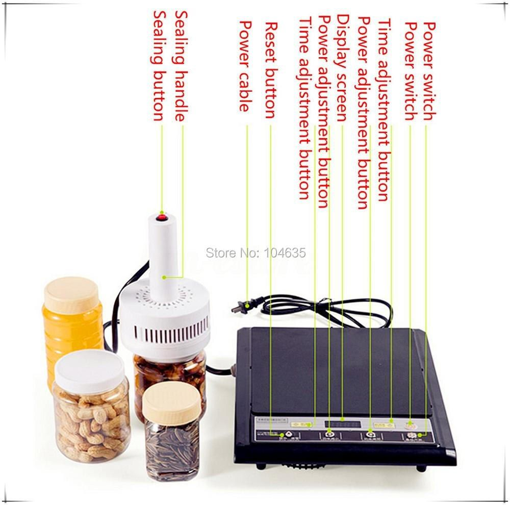 110V Manual electromagnetic induction sealer machine ,aluminium foil induction sealing machine (seal size:20-100mm)