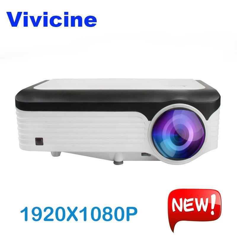 Vivicine M300 1920X1080 Echt 1080 P Projektor, HDMI USB PC Full HD Home Multimedia Video Spiel Projektor Proyector Beamer