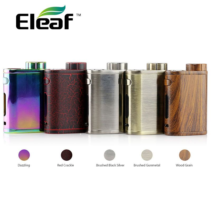 Colorful Original 75W Eleaf IStick Pico TC Vape MOD Without 18650 Battery 75W E-cigarette Istick Pico Mod Supports VW/Bypass/TC