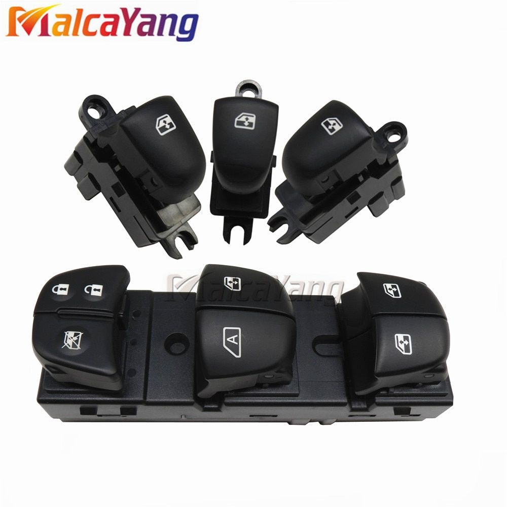 With automatic window lifting switch For Nissan Qashqai/Altima/Sylphy/Tiida/X-Trail