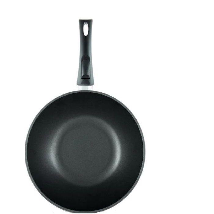 Сковорода-вок Нева металл посуда, Титан, 26 см