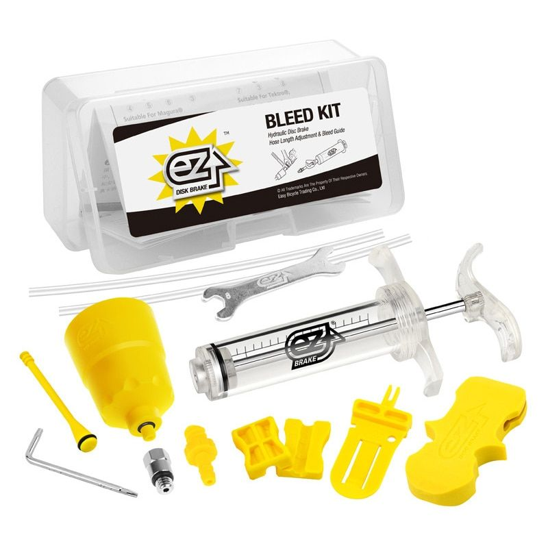 Bicycle Hydraulic Brake Bleed Tool Kit for Shimano, Tektro, Margura MT and Seires Brake System Use Mineral Oil Brake R0019