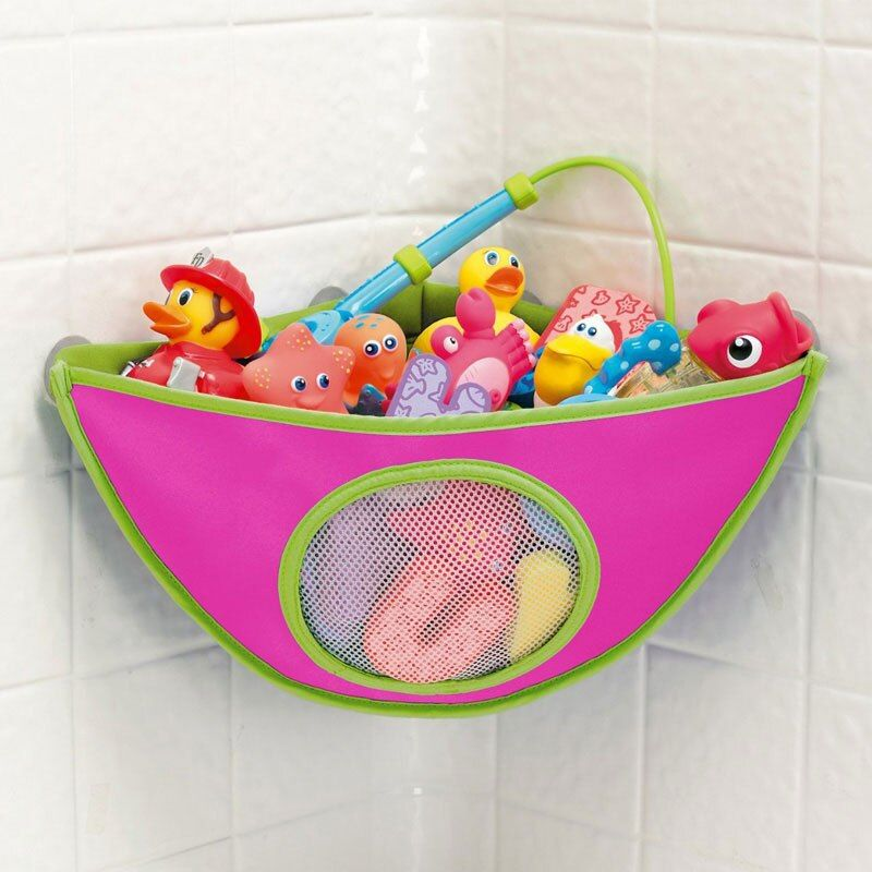 Bath Toys Storage Bathroom Bag Baby Kids Bath Toy Organizer Tub Waterproof Hanging Storage Bag Toys for Children Gift