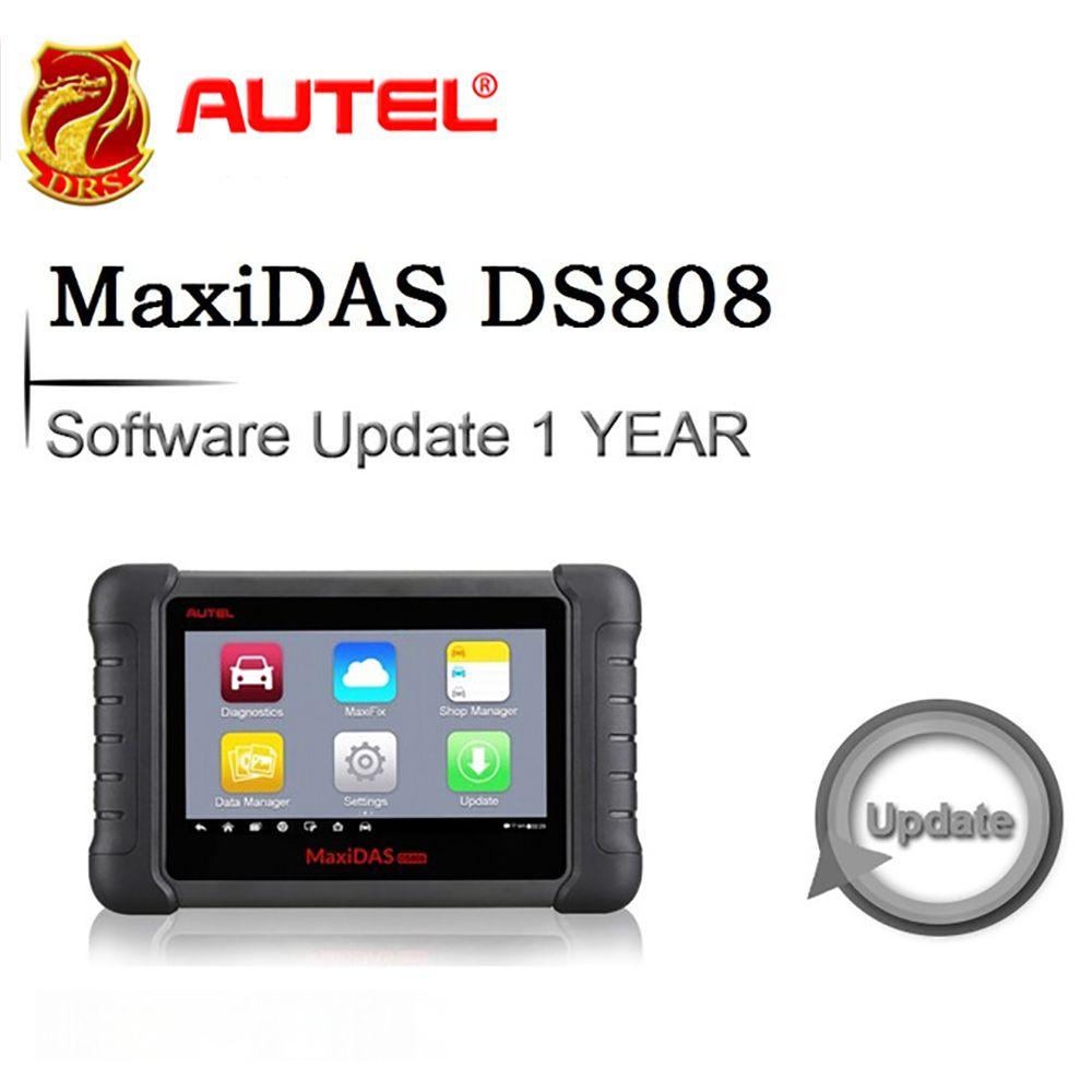 Software 1 Jahr Update für Autel MaxiDAS DS808 OBDII Automotive Diagnostic Tool Scanner