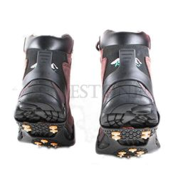 Snow Non-slip Cleats Anti-Slip Overshoes Studded Ice Traction Shoe Covers Spike New Fashion High Quality Ice Gripper 4 Size