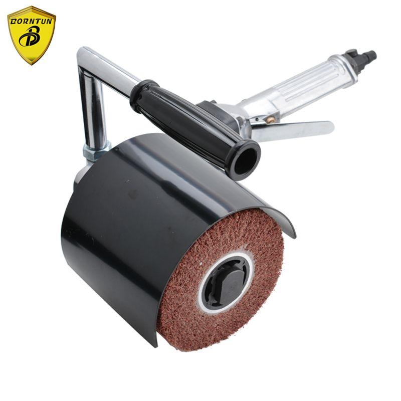 Borntun pneumatique polisseuse à Air meuleuse ponceuse brunissoir polissage polissage polissage brunissage dessin métal bois acier inoxydable