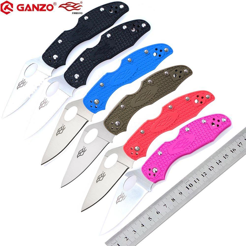 58-60HRC Ganzo Firebird F759M 440C lame couteau pliant survie en plein air camping outil edc couteau de poche tactique edc outil extérieur