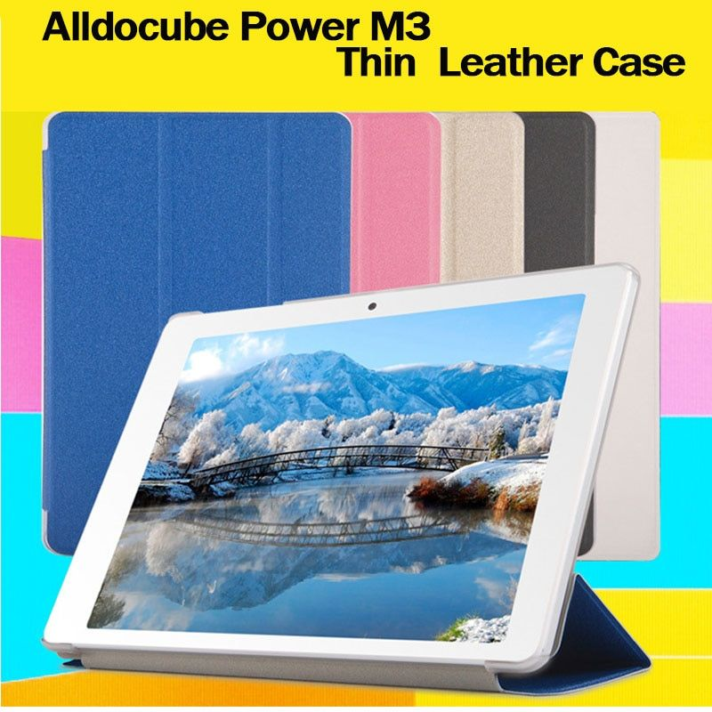 High quality cube power m3 Fashion Case For alldocube power m3 Tablet, Flip Stand PU Leather Case For 10.1