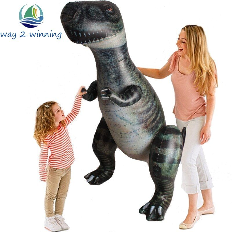185cm Giant Inflatable Dinosaur Toys T-Rex Birthday Gifts For Children Halloween Christmas Party Props Blow UP Yard Decorations