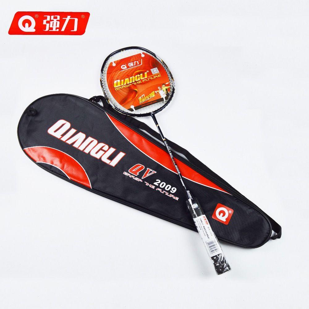 Authentische Qiangli2009 Ultraleicht 5U nanotechnologie badminton schläger badminton raquette badminton badminton schläger