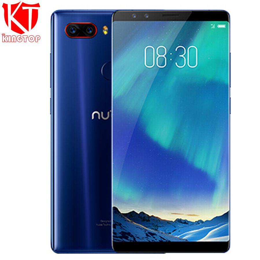 Original Nubia Z17S 4G LTE Mobile Phone 8GB RAM 128GB ROM 5.73 inch Android 7.1 Snapdragon 835 Front and Rear cameras NFC phone