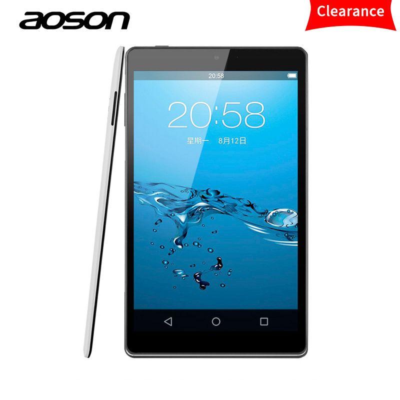 Original Aoson M812 Ultradünne 8 zoll Android Tablet 1 GB RAM 16 GB ROM Lollipop Tabletten PC IPS Allwinner A33 Quad Core Bluetooth