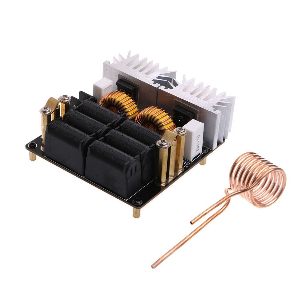 20A 1000W 12V-48V ZVS Low Zero Voltage Induction Heating Board Module DIY