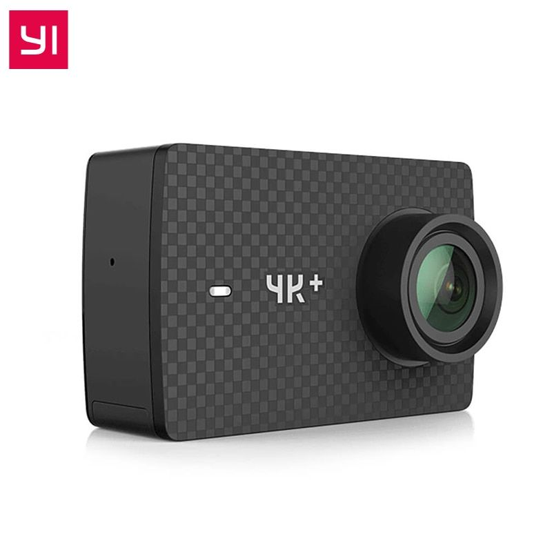 For Xiaomi YI 4K Plus Action Camera 2.19' Ambarella H2 for SONY IMX377 12MP 155 Degree 4K Ultra HD 4K+Sports Camera Touch Screen