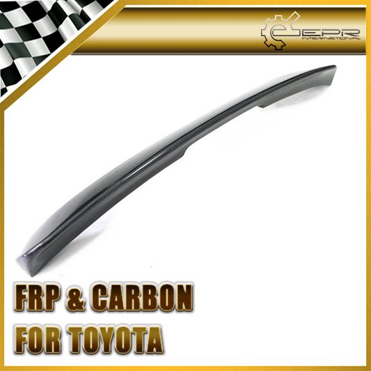 Car Styling For Toyota MK4 Supra Carbon Fiber Rear Spoiler Drag Wing In Stock